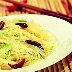 香炝土豆丝的做法