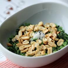 花生米拌香菜的做法