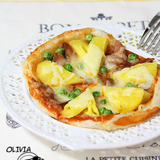 菠萝金枪鱼披萨的做法
