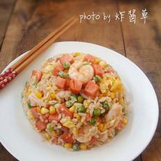 揚州炒飯的做法
