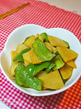 青椒土豆片的做法_家常青椒土豆片的做法【图】青椒