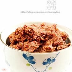 桂花红豆馅 的做法