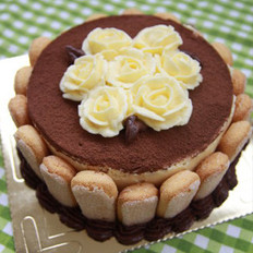 裱花版提拉米苏蛋糕的做法