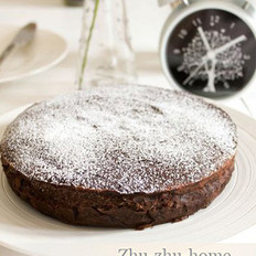 黑巧克力蛋糕