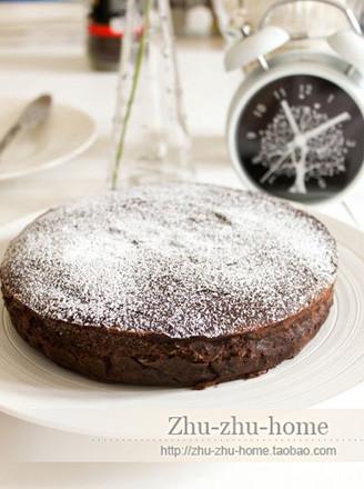 黑巧克力蛋糕的做法
