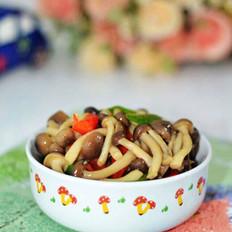双椒蟹味菇