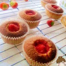 草莓酱麦芬