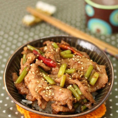 日式烧肉饭 的做法