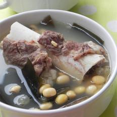 黄豆海带大骨汤 的做法