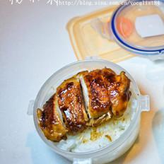 香嫩照烧鸡肉饭的做法