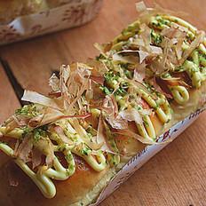 章鱼小丸子面包的做法