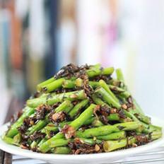 梅干菜炒豇豆