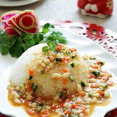 韩式鱿鱼盖浇饭的做法
