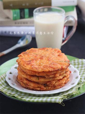 泡菜豆渣煎饼的做法