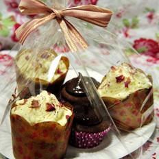 玫瑰小蛋糕的做法