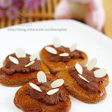 四叶草姜饼的做法