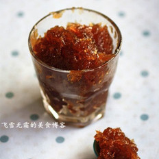 红糖冬瓜膏的做法
