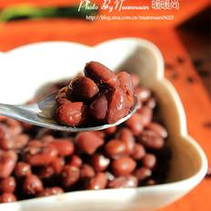 焖出来的蜜红豆的做法