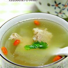 冬瓜枸杞牛肉汤的做法