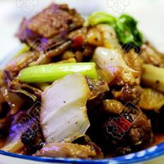 豆豉酸菜鸡的做法