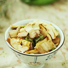 香干回锅肉的做法