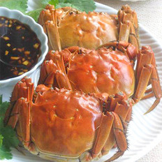 清蒸大闸蟹 的做法