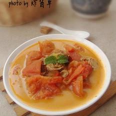 沙茶番茄燉牡蠣的做法