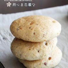 开心果燕麦包的做法