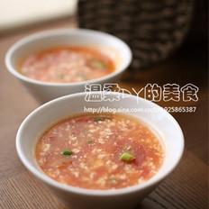 番茄豆花汤的做法