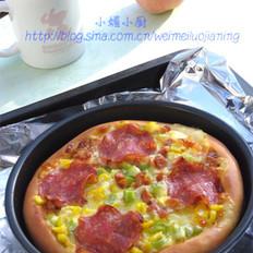 萨拉米肠披萨 的做法
