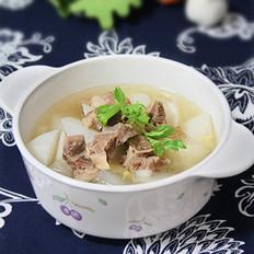 清炖白萝卜牛腩汤的做法