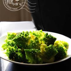 羅馬花椰菜的做法