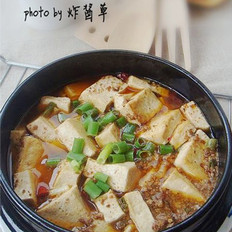 石锅鱼籽豆腐的做法