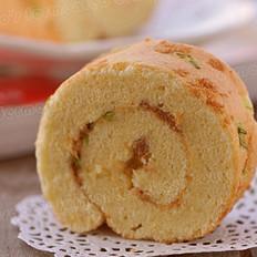 蔥香肉松蛋糕卷的做法
