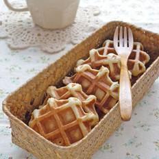 酵母华夫饼的做法
