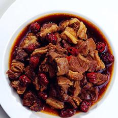 红枣炖羊肉的做法