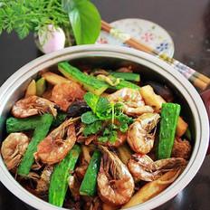 香辣虾锅的做法
