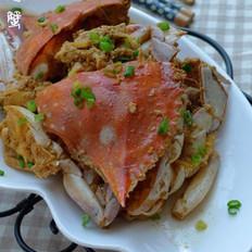 炒螃蟹的做法