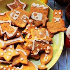圣诞节姜饼干的做法