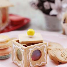 姜饼糖果盒子