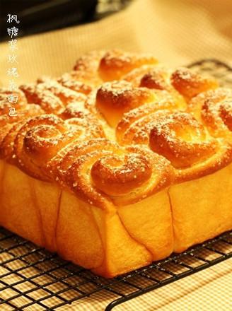枫糖浆玫瑰花面包的做法