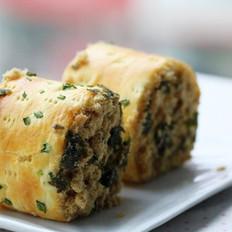 肉松海苔面包卷的做法