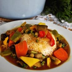 蔬菜咖喱锅的做法