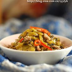 酸菜炒肉丝的做法