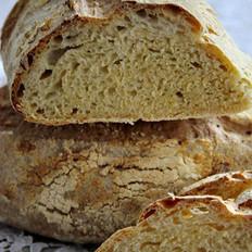 玉米面包的做法