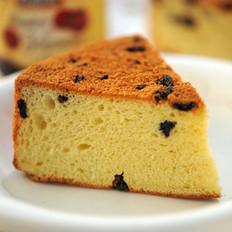 蓝莓奶酪戚风蛋糕的做法