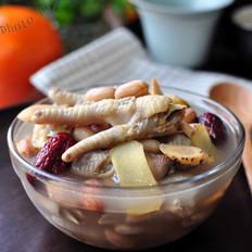 黄芪大枣煲凤爪的做法