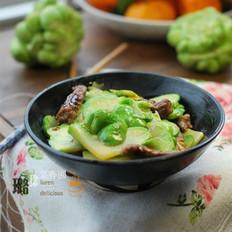 青菜头炒肉的做法