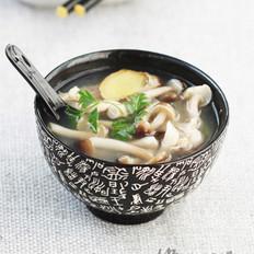 鸭骨汤的做法