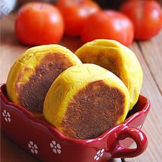 香酥南瓜紅豆餅的做法